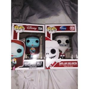 Jack and Sally Funko Pops